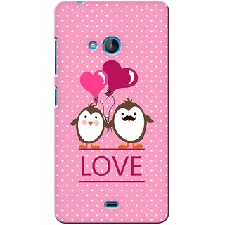G.store Printed Back Covers for Microsoft Lumia 540 Pink