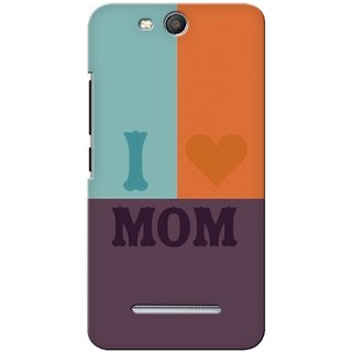 G.store Printed Back Covers for Micromax Canvas Juice 3 Q392 Multi