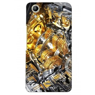 G.store Printed Back Covers for Micromax Canvas Selfie Lens Q345  Yellow