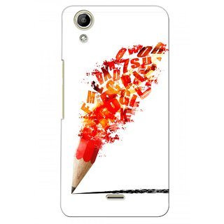 G.store Printed Back Covers for Micromax Canvas Selfie Lens Q345  Red