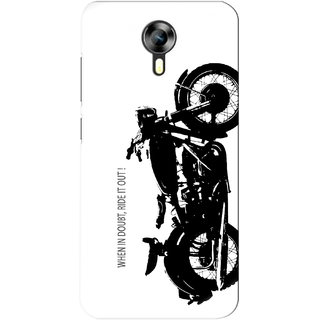 G.store Printed Back Covers for Micromax Canvas Xpress 2 E313 White