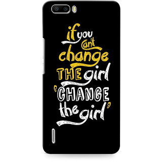 G.store Printed Back Covers for Huawei Honor 6 Plus Black