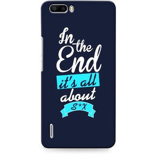 G.store Printed Back Covers for Huawei Honor 6 Plus Blue