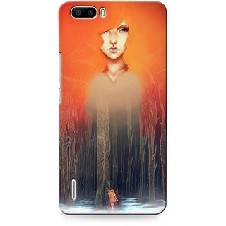 G.store Printed Back Covers for Huawei Honor 6 Plus Multi