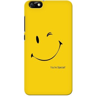 G.store Printed Back Covers for Huawei Honor 4X Yellow