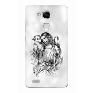 G.store Printed Back Covers for Huawei Ascend Mate 7 White
