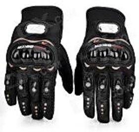 Hand gloves for bike riders