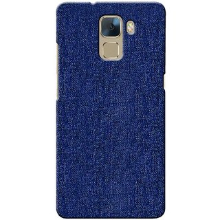 G.store Printed Back Covers for Huawei Honor 7 blue