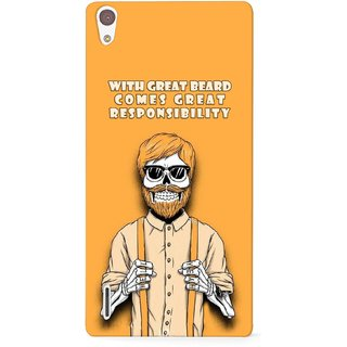 G.store Printed Back Covers for Huawei Ascend P7 Yellow