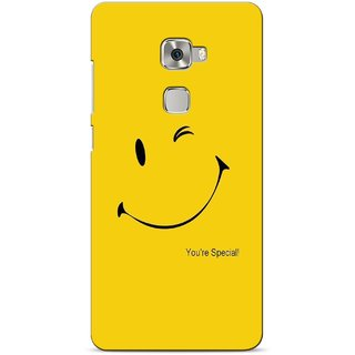 G.store Printed Back Covers for Huawei Mate S Yellow