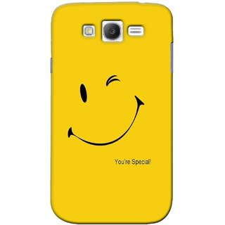 G.store Printed Back Covers for Samsung Galaxy Grand I9082 Yellow