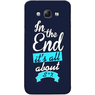 G.store Printed Back Covers for Samsung Galaxy A8 Blue