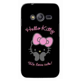 G.store Printed Back Covers for Samsung Galaxy Ace 3 Black
