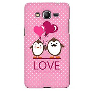 G.store Printed Back Covers for Samsung Galaxy Core Prime G360h Pink