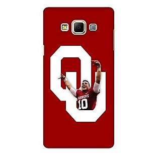 G.store Printed Back Covers for Samsung Galaxy E7 Red