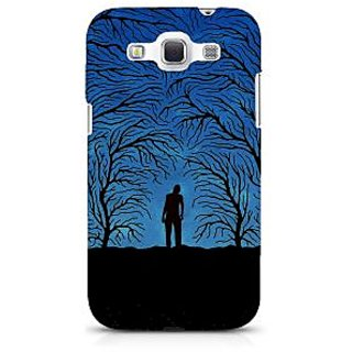 G.store Printed Back Covers for Samsung Galaxy Grand Quattro I8552 Blue