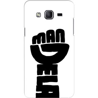 G.store Printed Back Covers for Samsung Galaxy J3 White