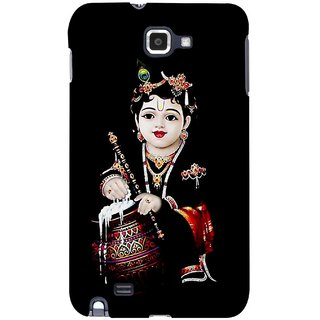 G.store Printed Back Covers for Samsung Galaxy Note  Black