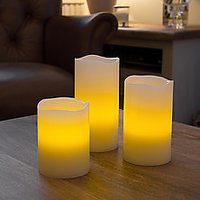 Led Candle With Timer & Remote Control