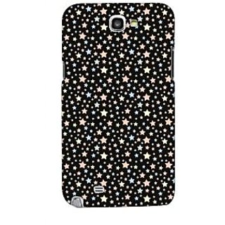 G.store Printed Back Covers for Samsung Galaxy Note 2 Black