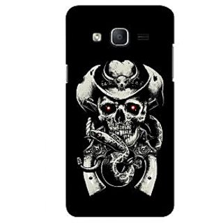 G.store Printed Back Covers for Samsung Galaxy On5 Black