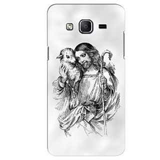G.store Printed Back Covers for Samsung Galaxy On5 White