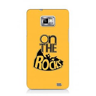 G.store Printed Back Covers for Samsung Galaxy S2 Yellow