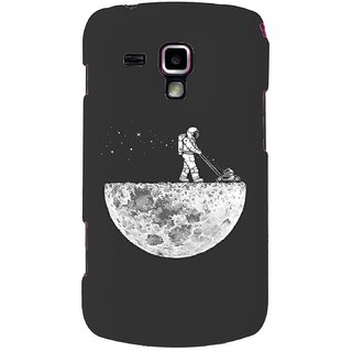 G.store Printed Back Covers for Samsung Galaxy S Duos S7562 Grey