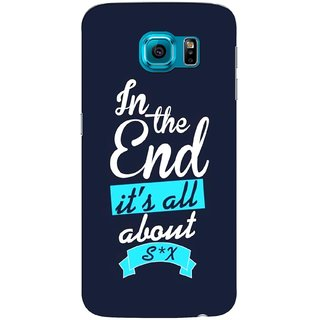 G.store Printed Back Covers for Samsung Galaxy S6 Blue