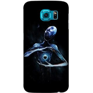 G.store Printed Back Covers for Samsung Galaxy S6 Black
