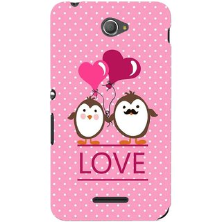 G.store Printed Back Covers for Sony Xperia E4 Pink