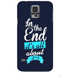 G.store Printed Back Covers for Samsung Galaxy S5 Blue