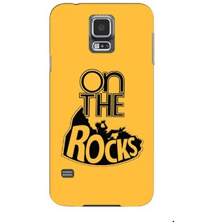 G.store Printed Back Covers for Samsung Galaxy S5 Yellow