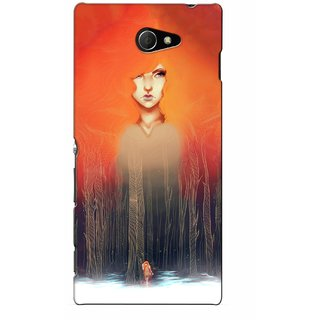 G.store Printed Back Covers for Sony Xperia M2 Multi
