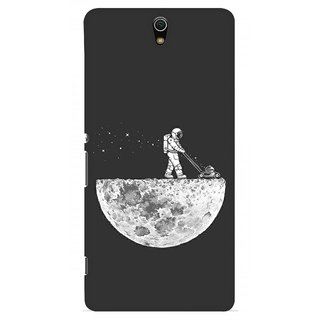 G.store Printed Back Covers for Sony Xperia C5 Ultra Grey
