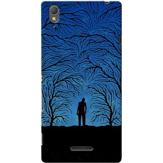 G.store Printed Back Covers for Sony Xperia T3 Blue