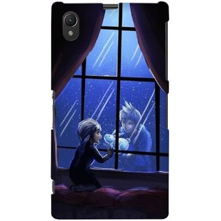 G.store Printed Back Covers for Sony Xperia Z1 Black