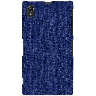 G.store Printed Back Covers for Sony Xperia Z1 blue