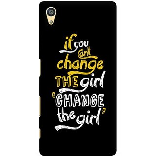 G.store Printed Back Covers for Sony Xperia Z5 Black