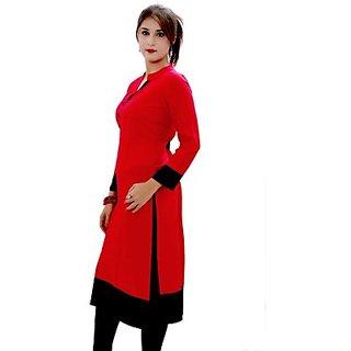 Sukanyaa Casual Self Design Womens Kurti