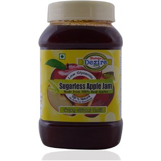 Dezire Sugarless Low Glycemic Apple Jam 250g