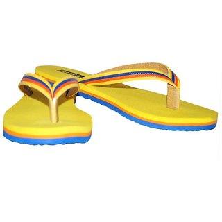 Riwaaz Yellow Colour Flip Flops