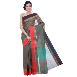 Sangam Kolkata Multicolor Cotton Woven Design Saree