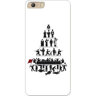 G.store Hard Back Case Cover For Micromax Canvas Knight 2 E471