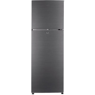 Haier HRF- 2674 BS-R 247 Litres Frost Free Double Door Refrigerator - Brush line Sliver