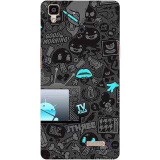 G.store Hard Back Case Cover For Oppo R7