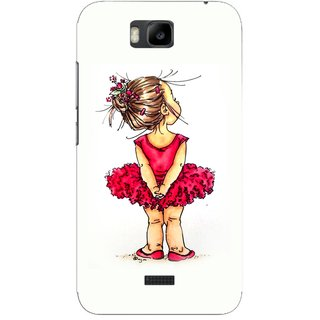 G.store Hard Back Case Cover For Huawei Honor Bee