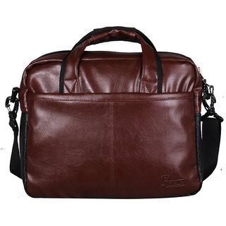 F Gear Aristo Brown 15.4 Inch Laptop Bag
