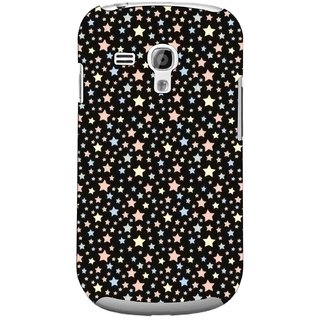 G.store Printed Back Covers for Samsung Galaxy S3 Mini Black