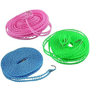 5 Meter Nylon Clothesline Rope (Color May Vary)